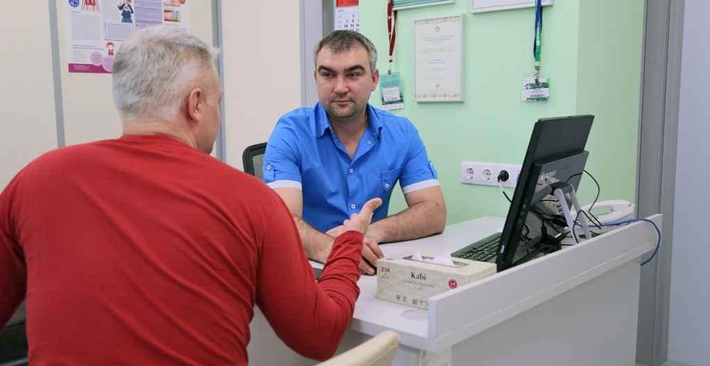 приём ведёт врач-уролог Цыбулин Александр Анатольевич